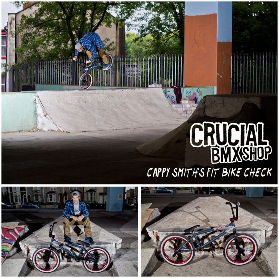 Crucial BMX Bike Check Cappy Smith