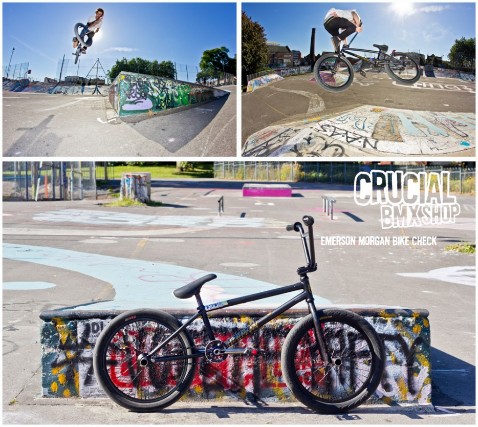 Emerson Morgan Crucial BMX Bike Check