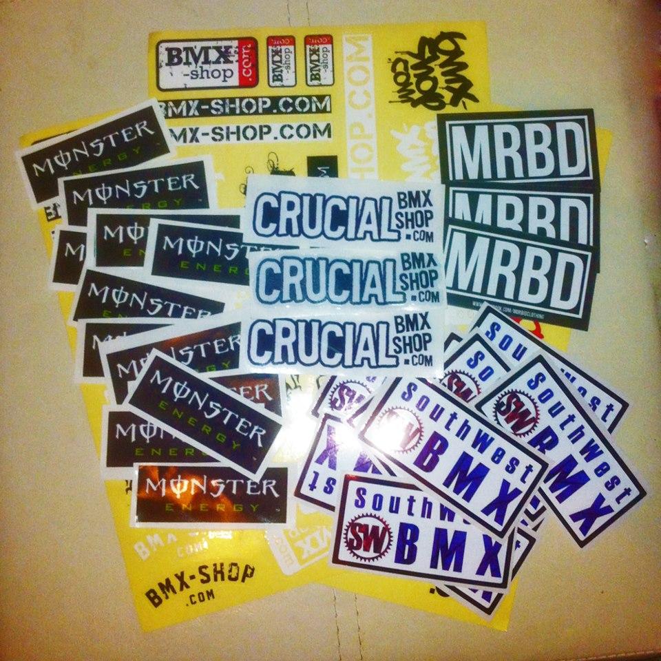 SWBMX Sticker Giveaway