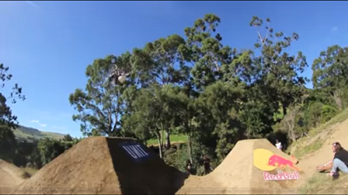 Kyle Baldock Crazy double flip