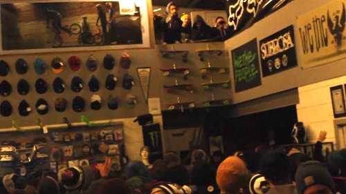 Cult Talk Is Cheap Premiere @ Crucial BMX Shop